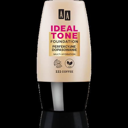 AA Make Up Ideal Tone Podkład perfekcyjne dopasowanie 111 coffee 30 ml