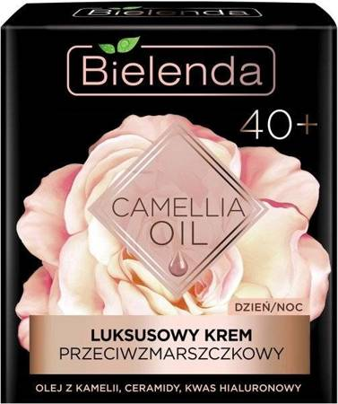 Bielenda Camellia Oil 40+ Krem przeciwzmarszczkowy dzień/noc 50ml