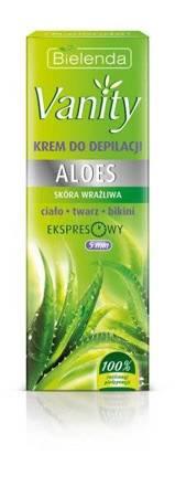Bielenda Vanity Krem do depilacji skóry wrażliwej Aloes 100ml