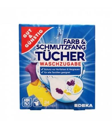 Gut & Gunstig chusteczki wyłapujące kolor 24 szt.