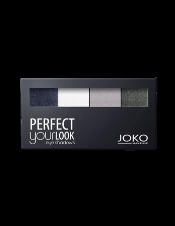 JOKO Cienie prasowane do powiek QUATTRO PERFECT YOUR LOOK 400