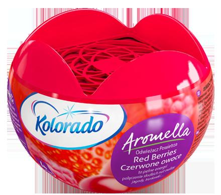 Kolorado Aromella Odświeżacz powietrza Czerwone owoce