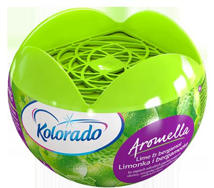 Kolorado Aromella Odświeżacz powietrza Limonka i bergamotka