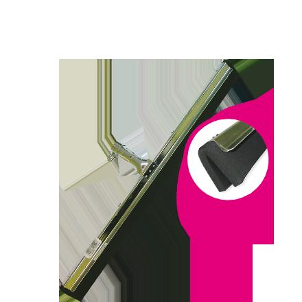 Kolorado Ściągaczka wzmocniona 55cm CZARNA