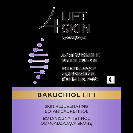 LIFT4SKIN BAKUCHIOL LIFT Redukujący zmarszczki/noc