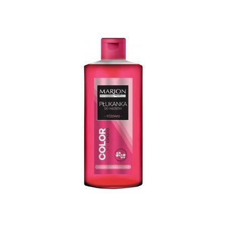 Marion Różowa płukanka do włosów