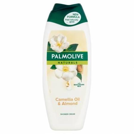 Palmolive Naturals Camellia Oil&Almond Kremowy żel pod prysznic 500ml