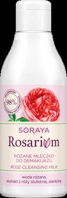 Soraya Rosarium Różane mleczko do demakijażu
