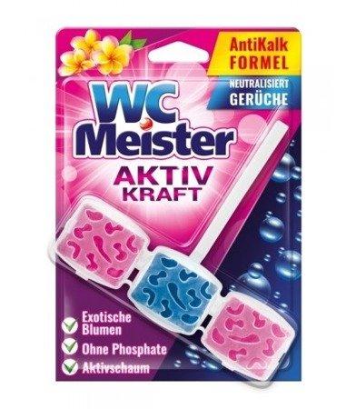 WC Meister Zawieszka zapachowa do WC zapach egzotycznych kwiatów