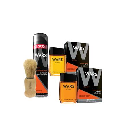 Wars Classic do golenia - ZESTAW 4 szt.