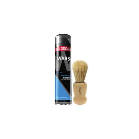 Wars Pianka do golenia Fresh + Pędzel do golenia
